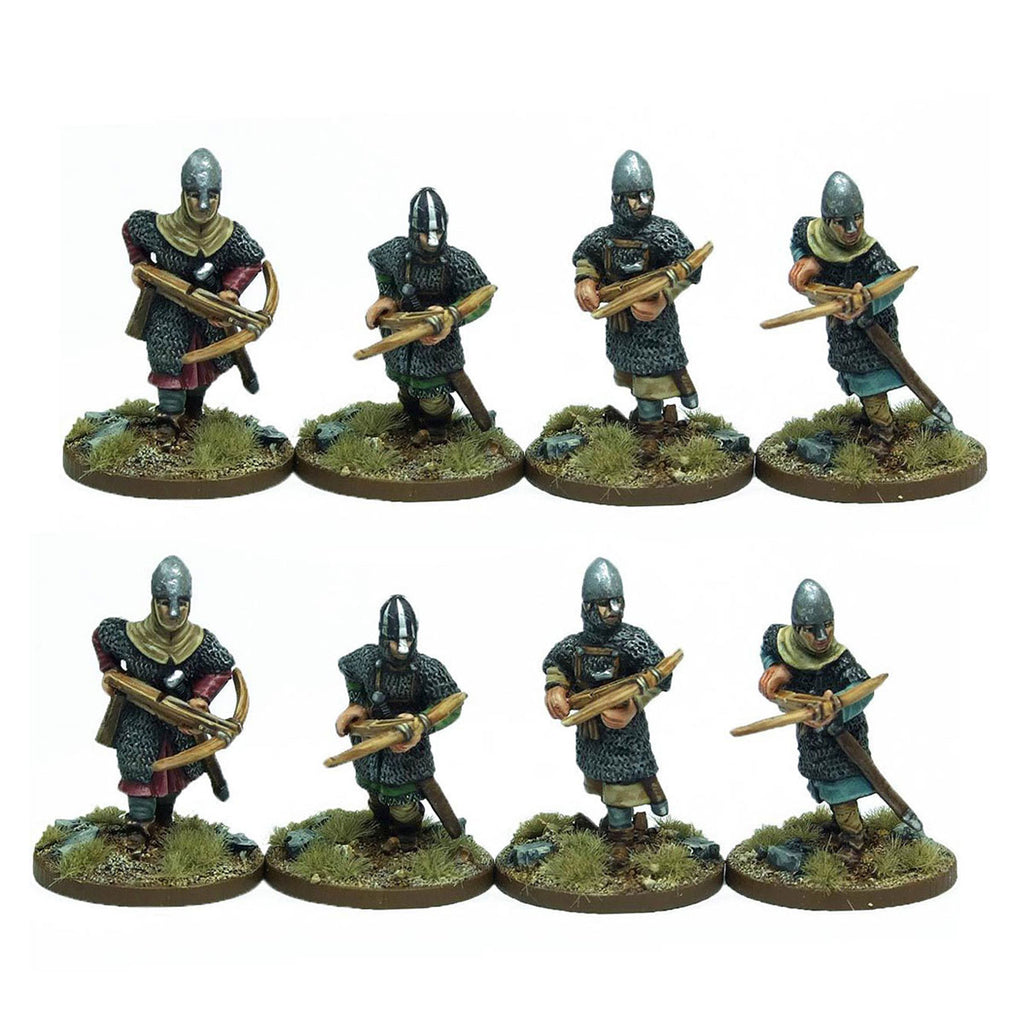 Norman Armoured Crossbowmen - 1 point