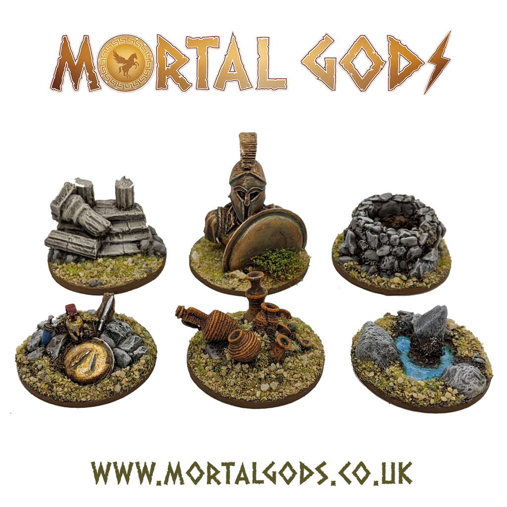Mortal Gods Objective Markers