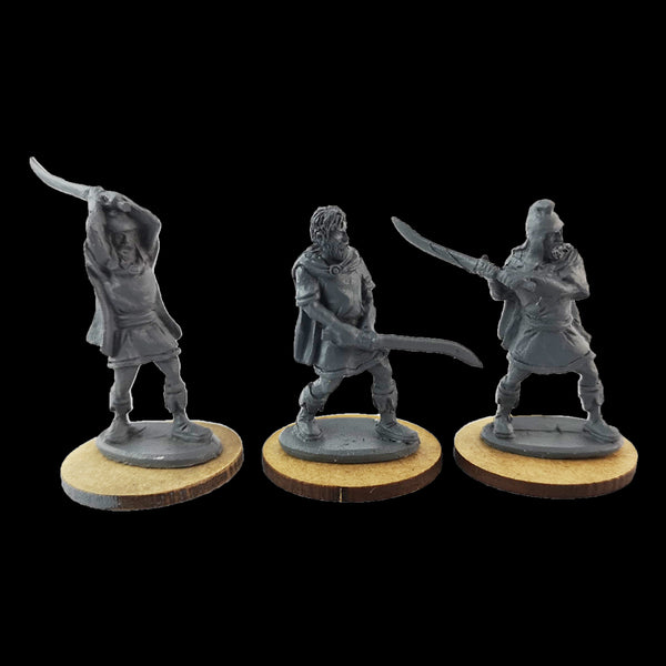Thrakian Warriors Resin