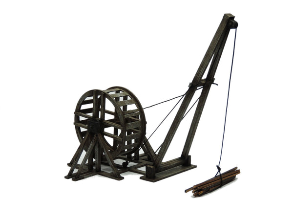 Small Treadwheel Crane