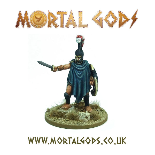 Polykratos of Thespis, Descended from Heroes - Thespian Lochagos (resin)