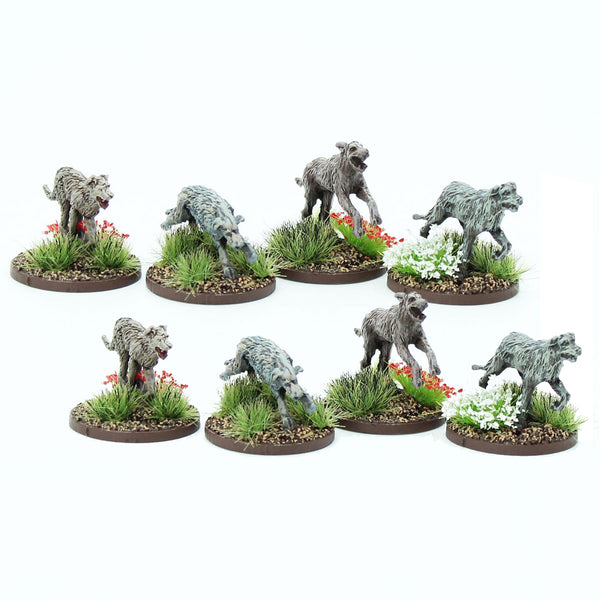 Irish/Pict/Scots Warhounds - 1 point
