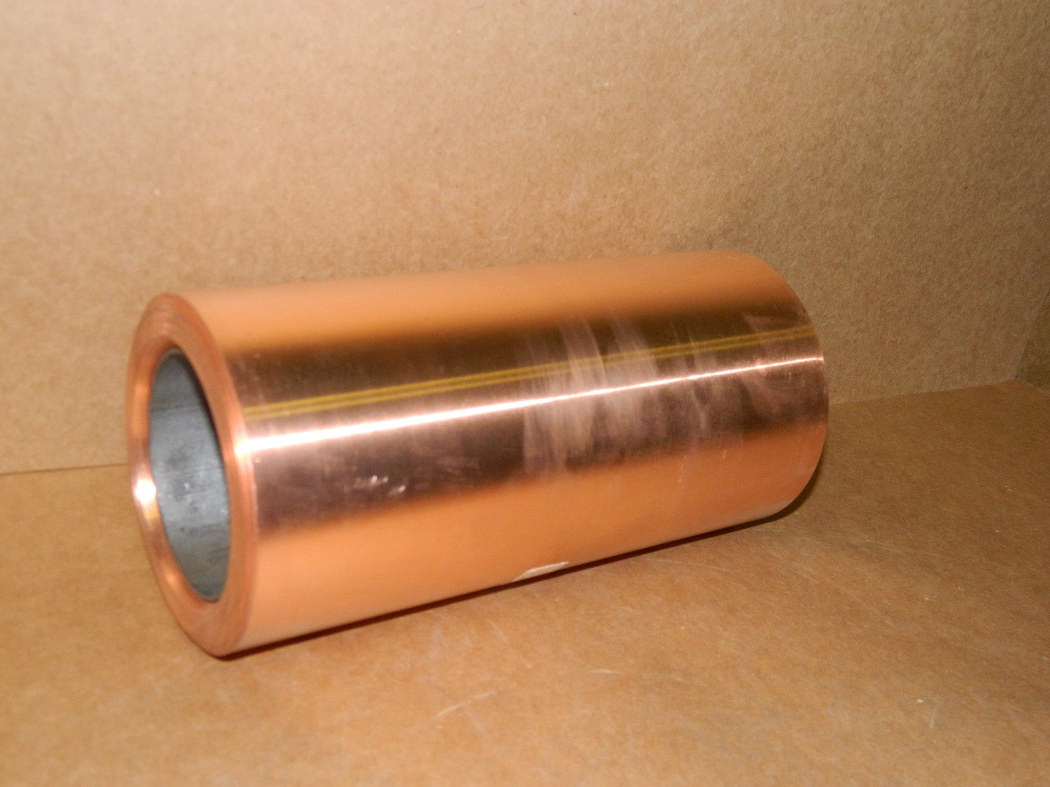 "101 Annealed .014 x 9.000"" x 24 lbs. Oxy. Free Copper Coil"