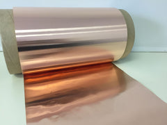 "Copper Sheet 20ml (.020"") x 12"" x 27 linear feet"