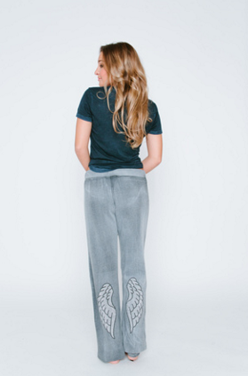 Angel Wings Burnout Sweatpants