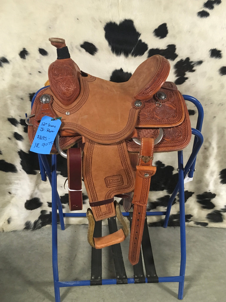 "12"" Irvine Jr Roper Saddle"