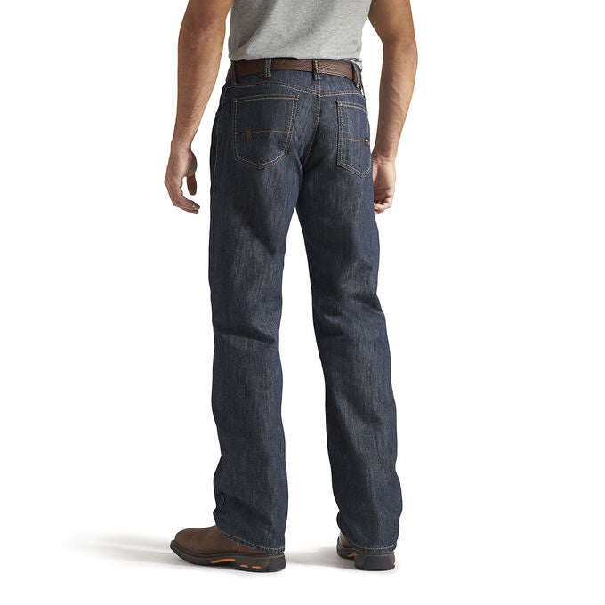Ariat Men's FR M3 Loose Basic Straight Leg Jean - 10014450 Shale