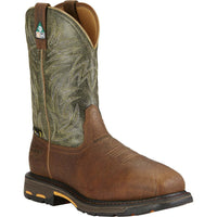 Ariat Men's Workhog Csa Comp Toe Green-10017174