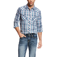 Ariat Men's Hudson Snap Retro Shirt