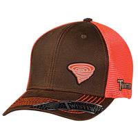 Twister Mens Oilskin Ball Cap