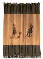 Team Roper Shower Curtain