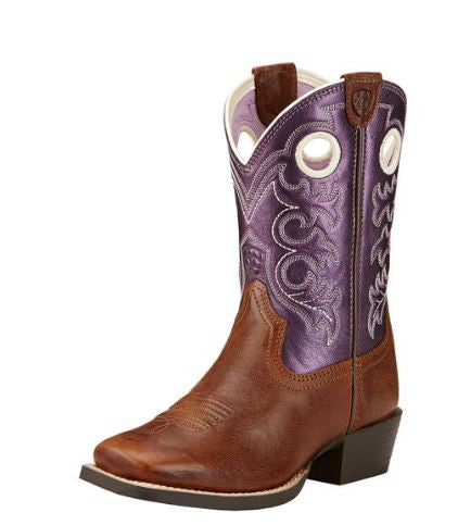 Ariat Youth Crossfire Sparklin Purple - 10017312