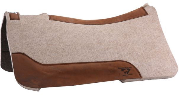 Diamond Wool Contoured Cowboy Pad 1""