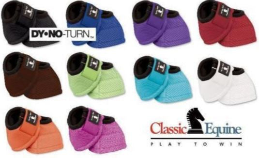 Classic Equine DY-NO Turn Bell Boot