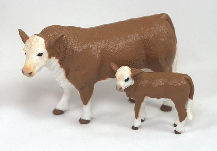 Big Country Farm Toys Hereford Cow & Calf