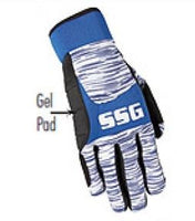 Roping Gloves SSG Pro Team Roper with Gel Pad