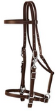 Weaver Trail Gear Halter/Bridle Combo Brown