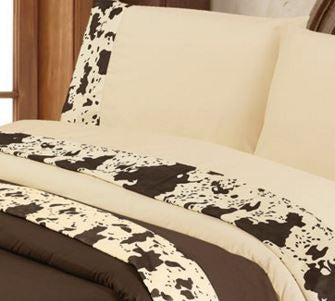 HiEnd Accents-Cowhide Sheet Set