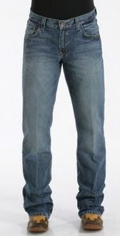 Cinch Mens Relaxed Fit Carter Jeans-Medium Stonewash-MB96134001