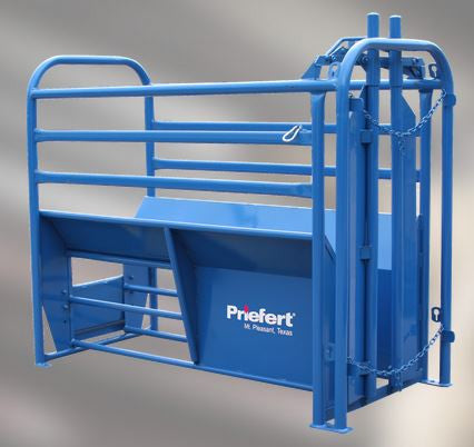 Priefert-Stripping Chute