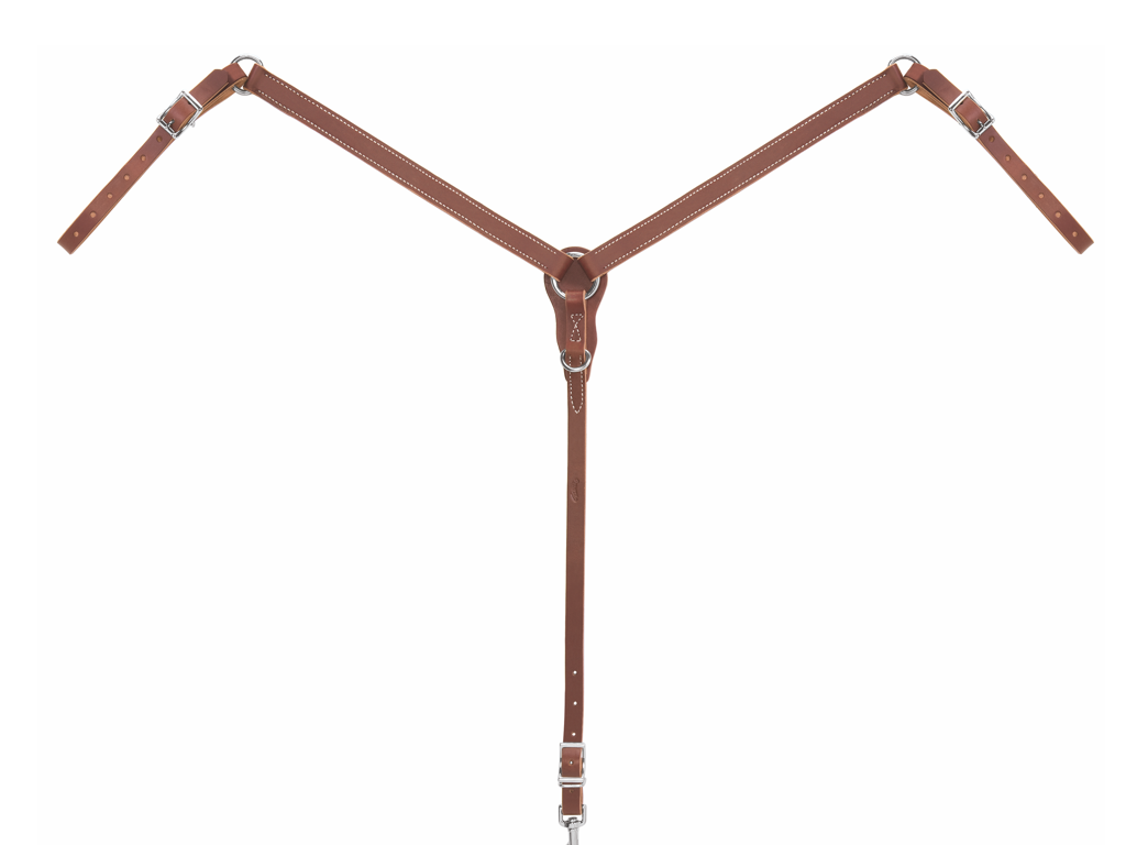 Weaver-Pony Slim Ring-in-Center Breast Collar