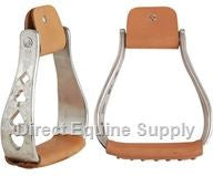 Direct Equine Supple-Aluminum Cut Out-Stirrups