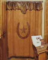M&F Lone Star Shower Curtain