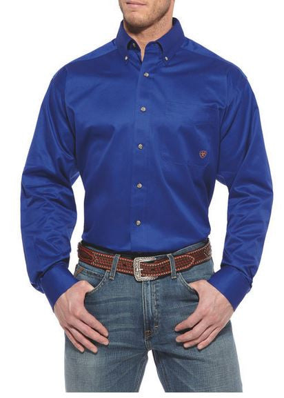 Ariat-Solid Twill Shirt-Men
