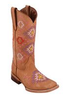 Ferrini Ladies Aztec Tan Boots
