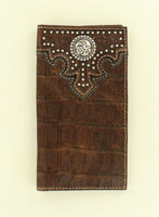 Ariat Rodeo Croc Texture Wallet