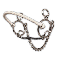 Professional's Choice Brittany Pozzi Combination Series- Twisted Wire Snaffle 5 1/2