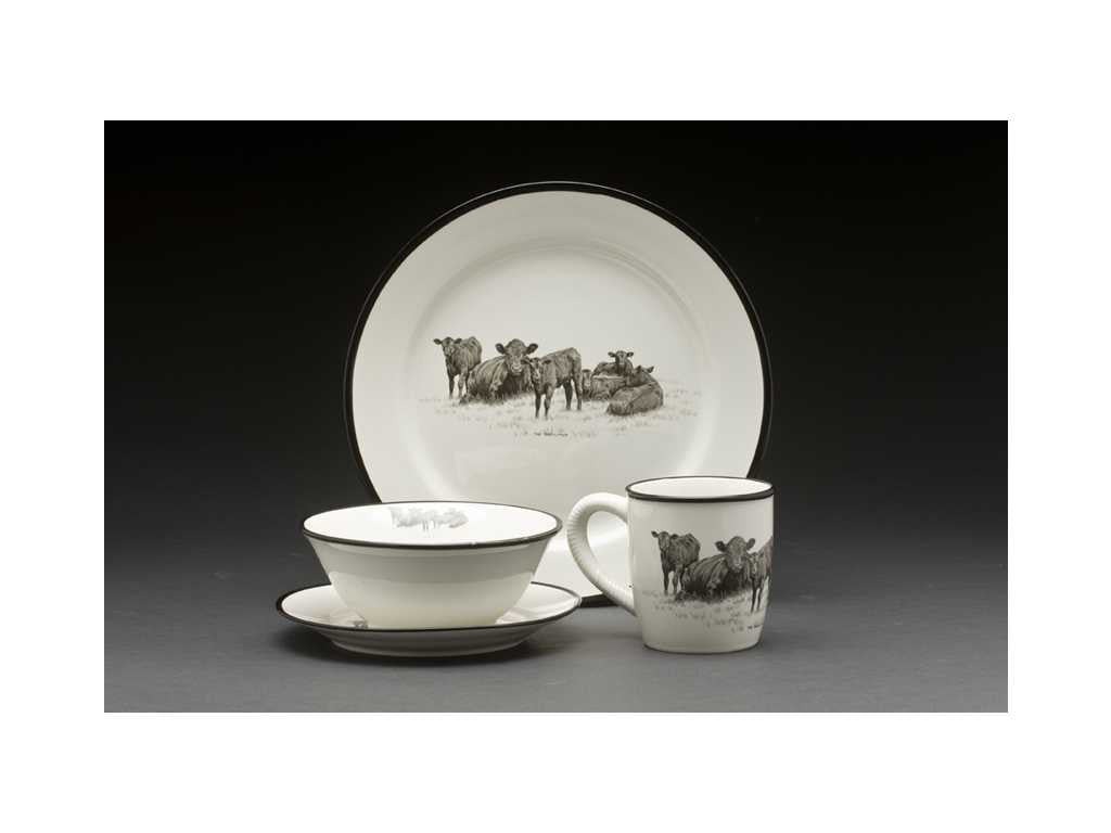 Bernie Brown16pc-Dinnerware Set