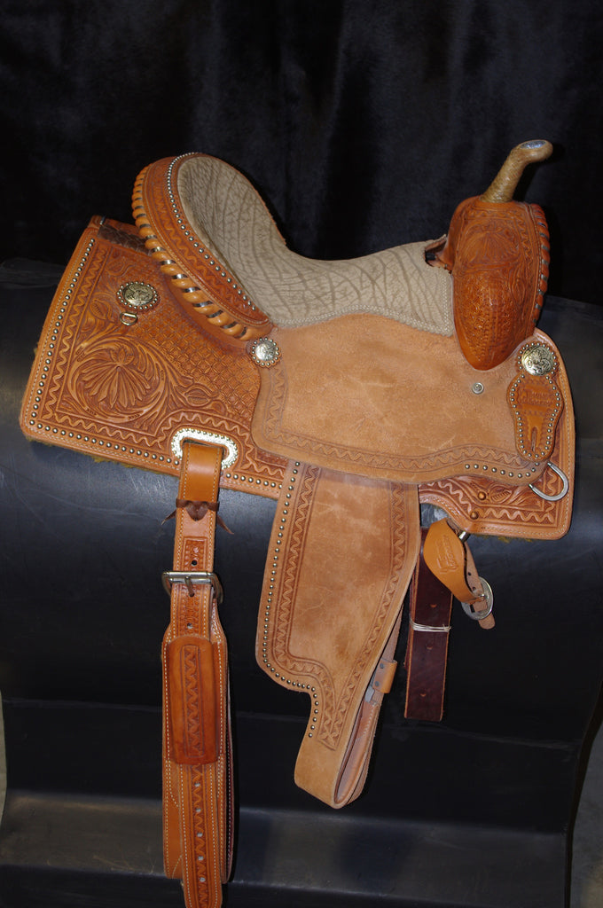 "13 1/2"" Irvine Barrel Saddle IB 109"