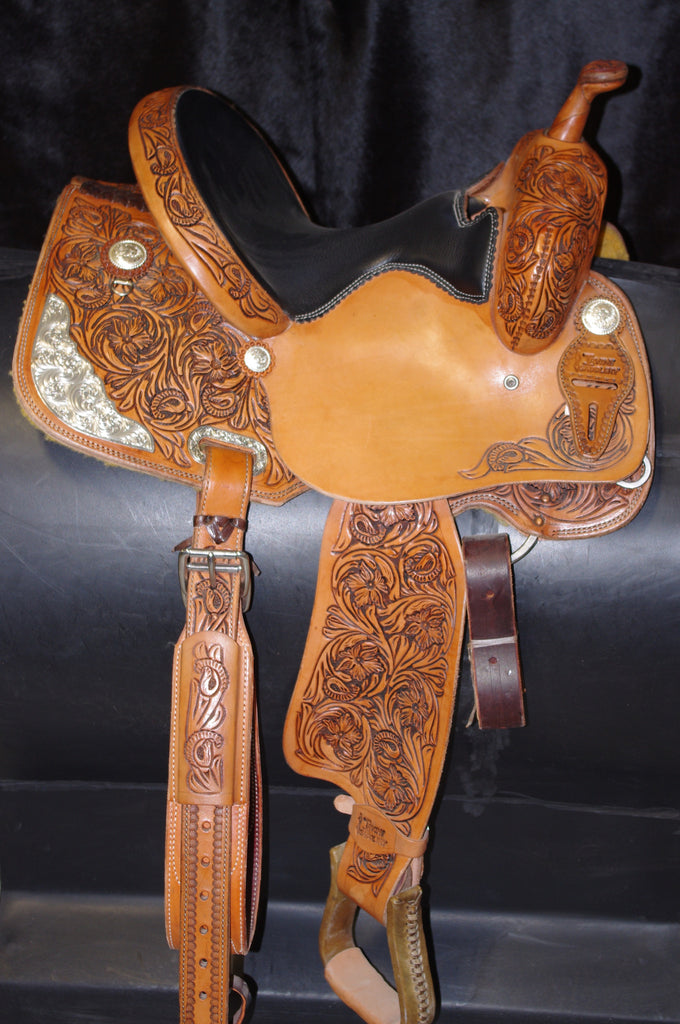 "13"" Irvine Barrel Saddle IB 118"