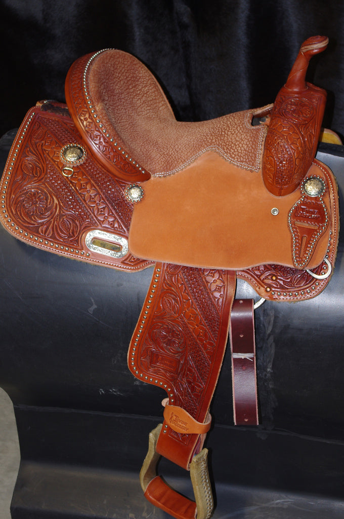 "13 1/2"" Irvine Barrel Saddle IB 130"