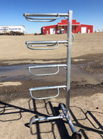 4 Tier Saddle Rack With Wheels