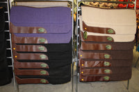 Irvine's Contour Saddle Pad - Cotton Top