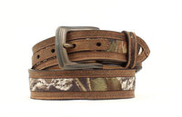 Nocona Boys Mossy Oak Inlay Belt