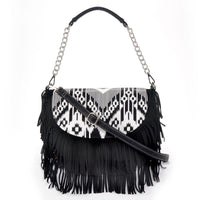 Blazin Roxx Jennifer Aztec Print Flap Over Bag