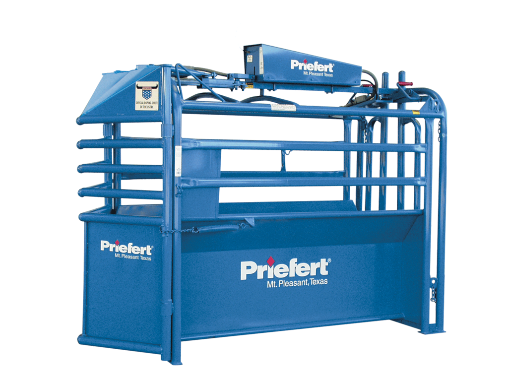 Priefert Fully Automatic Roping Chute