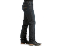 Cinch Mens Slim Fit Silver Label Jeans-Dark Rinse-MB98034002