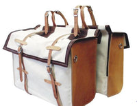 Outfitters Supply-Deluxe Canvas & Leather Panniers (Pair)