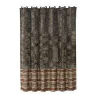 HiEnd Accents Silverado Shower Curtain