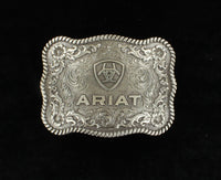 Ariat Flower and Scroll Scalloped Shape Buckle