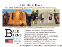 Bale Barn - The Ultimate Equine Hay Feeder