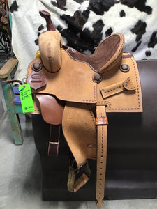 "12"" Irvine Custom Barrel Saddle"