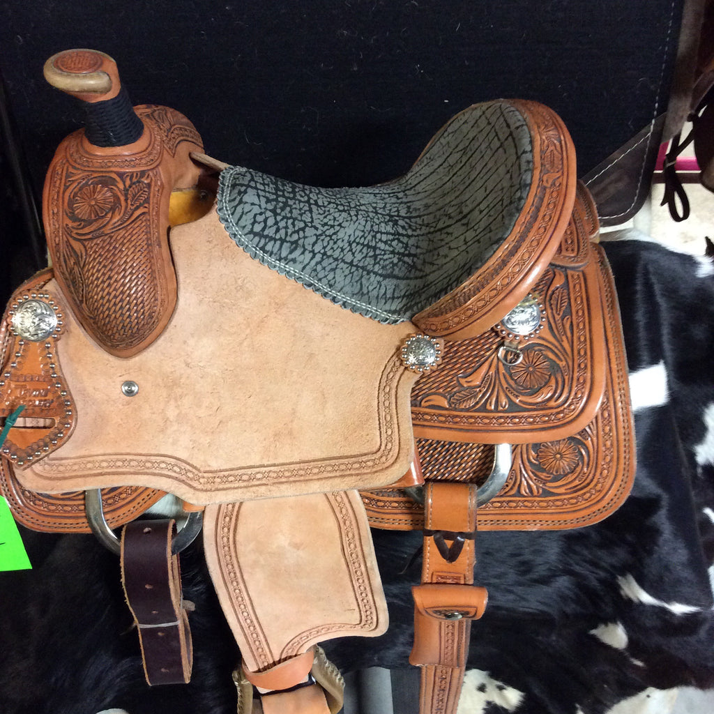 "12"" Irvine Jr Roper Saddle-IRJ02"
