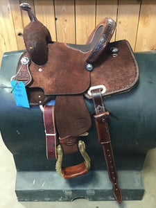 "12"" Irvine Barrel Saddle"