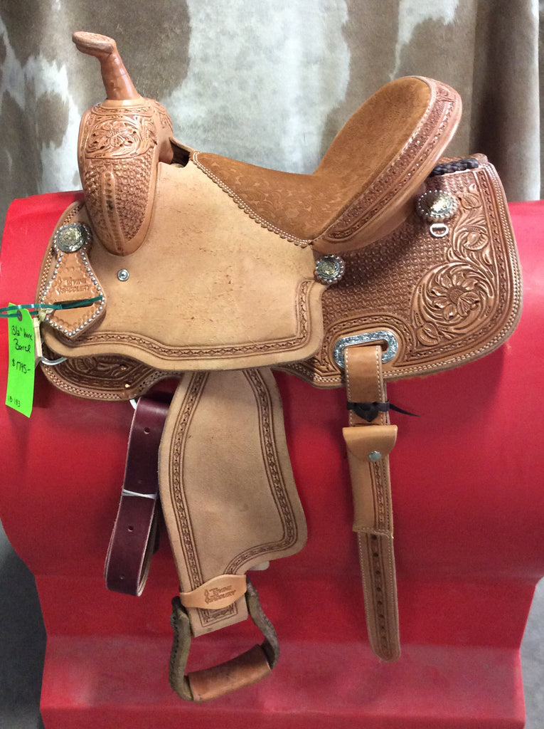 "13 1/2"" Irvine Barrel Saddle IB 183"