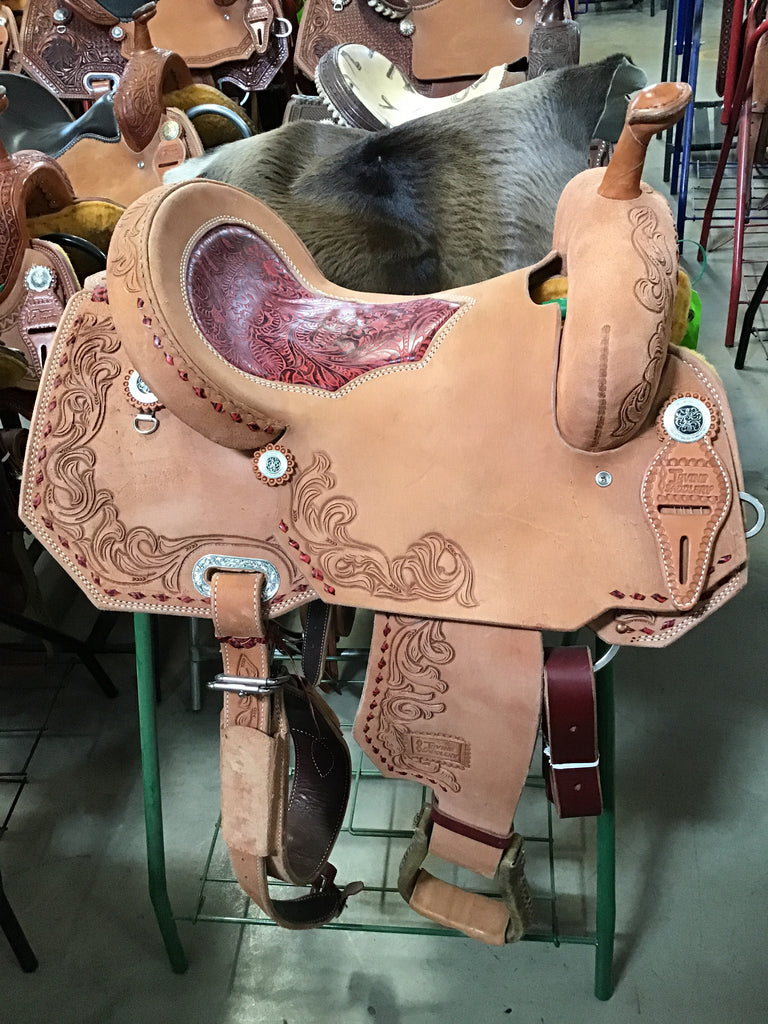 "14.5"" Irvine Barrel Saddle IB 1086"
